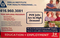 BECOMING A PSW  (Bathurst and Finch Location)