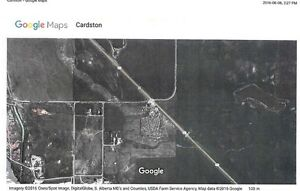 3 Acre Property with Services south of Cardston with Waterton
