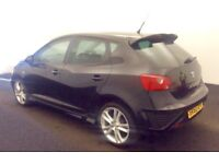 2010 60 Seat Ibiza SPORT BLACK LIMITED EDITION 1.4 Low Miles Only 42K 5DR Cheap Insurance