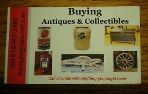 Buying Antiques and Collectables