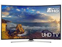 "SAMSUNG UE55MU6220 55"" Smart 4K Ultra HD HDR Curved LED TV"