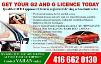 MTO Approved Driving Instructor>Driving School>Driving Lessons