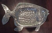 Silver Fish Sculpture