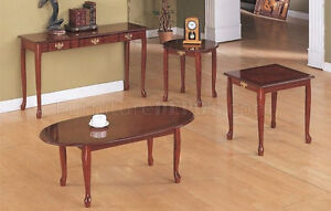 QUEEN ANNE STYLE COFFEE TABLES