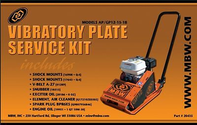 Mbw Plate Compactor Gpap 12 15 And 18 Service Kit Whonda Engine Old Style