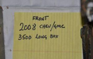 Torklift Camper frame tie downs for 2008 Chev/GMC 3500
