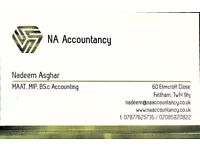Accounting/bookkeeping & tax return services