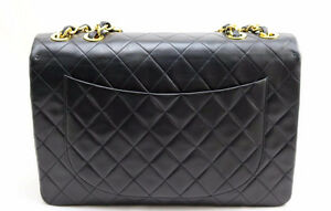 CHANEL XL JUMBO FLAP LAMBSKIN PURSE - AUTHENTIC Sarnia Sarnia Area image 2