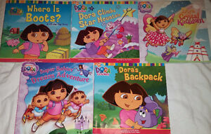Qty 6 Sets of 5 Dora Books Including Lift the Flap Retailing $9+ London Ontario image 7