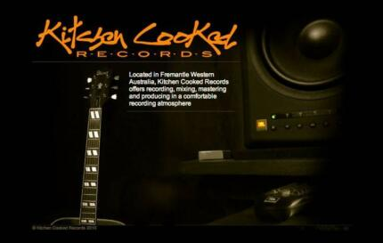 KITCHEN COOKED RECORDS Studio Fremantle Fremantle Fremantle Area Preview