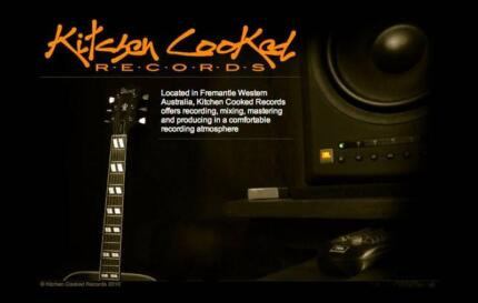KITCHEN COOKED RECORDS Studio Fremantle