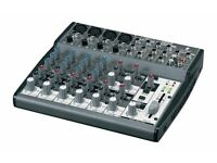 Behringer 1202FX XENYX 1202FX Premium 12-Input 2-Bus Mixer with British EQs - 24-Bit Multi-FX