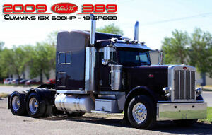 2009 PETERBILT 389 ***600HP ISX - 18SP - HEAVY SPEC***