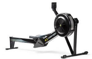 Concept 2 Rower Black model D