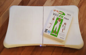 Nintendo Wii Fit Plus Game With Wii Balance Board Bundle