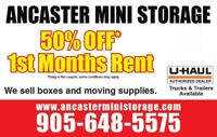 Ancaster Mini Storage and U-Haul