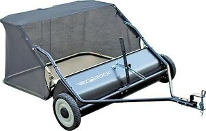 sweeper for lawn tractor