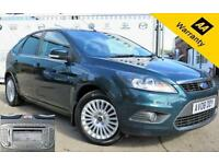 2008 08 FORD FOCUS 2.0 TITANIUM 5D 145 BHP! P/X WELCOME! SAT-NAV! BLUETOOTH! FUL