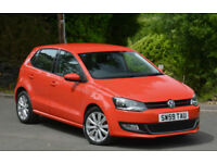 Volkswagen Polo 1.6TDI ( 90ps ) 2010MY SEL 5DR Red