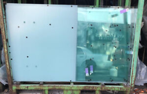 Commercial glass - great for railings