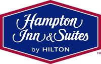 Housekeepers Needed at the Airdrie Hampton Inn & Suites