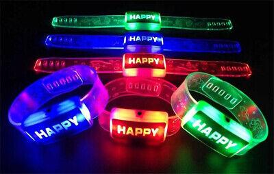 Light Up LED Bracelets Party Supplies & Flashing Party Favors Fashion Bracelets](Light Up Bracelets)