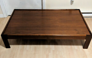 Solid Wood Coffee Table Made in Denmark Mid Century Modern (MCM)
