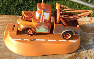 DISNEY PIXAR TOW MATER ANIMATED MOVING TALKING BANK Gatineau Ottawa / Gatineau Area image 3