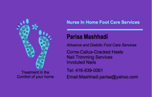 Nurse In Home Foot Care Services