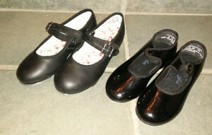 Tap dance shoes sizes 8.5/10, 11 and 13 to 5, jazz shoes size 1 Kitchener / Waterloo Kitchener Area image 1