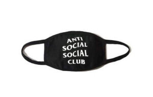 Anti Social Social Club FACE MASK - BRAND NEW/unopened