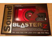 Sound Blaster Z Soundcard (With Microphone)