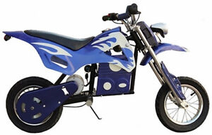 Brand New Electric Dirt Bike 24V Battery 350W Motor, Disk Brakes