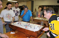 Tournoi de hockey sur table