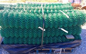 New Green Chainlink Fence