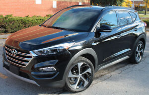 2017 HYUNDAI TUSCON PREMIUM AWD 1.6L TURBO LEATHER PANORAMIC ROO