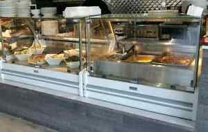 Hot Food Table / Salad / Meat / Deli, Steam Table, Display Cases