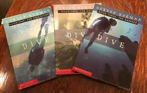 Dive book trilogy, all 3, great condition!