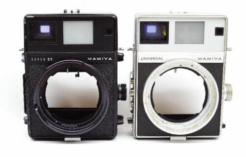 Mamiya Universal Super 23 Camera Repair Service EVALUATION