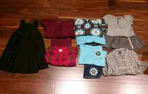 11 pc Girl's Size 2 Lot