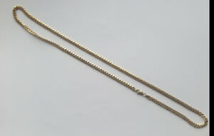 14k gold Miami cuban link chain 24""