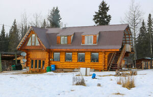 Two Story Log Home in Cheslatta - 29417 Clark Rd