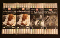 4 Sets Zig Photo Twin Markers For Colourizing B & W Photos