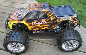 New RC Truck Brushless Electric 1/8 Scale TOP 2 LIPO 4WD RTR