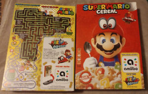 Super Mario Bros Cereal with Ammiibo tag (only sold in the US)