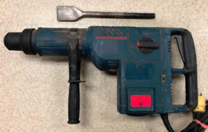 Bosch 2'' 14 AMP SDS-max combination hammer w/ warranty $449.99