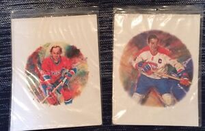 Jean Béliveau & Guy Lafleur prints