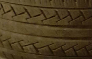 205-65-15, 2 USED ALL SEASON TIRES WITH RIMS, 40-50%TREAD $60