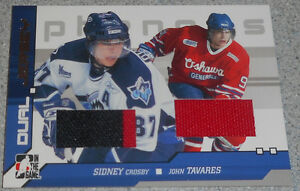 Crosby / Tavares , 2006-07 , In The Game Phenoms Dual Jersey