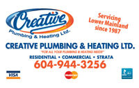 Creative Plumbing & Heating - Residential,Commercial,Strata